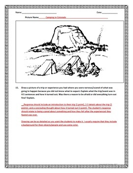 Reading A-Z NWEA Supplement Questions and Written Response (Level M Stories)