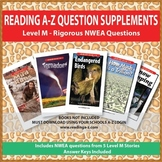 NWEA Reading A-Z Supplement Questions and Written Response (Level M Stories)