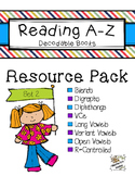 Reading A-Z Phonics Decodable Books Resource Pack 2