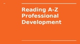 Reading A-Z Professional Development