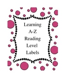 Reading A-Z Reading Level Labels