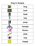 Reading A-Z - Wordless Book - Frog Is Hungry - Work on Writing