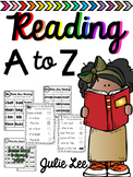 Reading A to Z Kindergarten Guided Reading