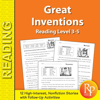 Reading About Great Inventions
