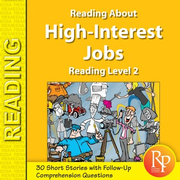 Reading About High-Interest Jobs: Reading Level 2