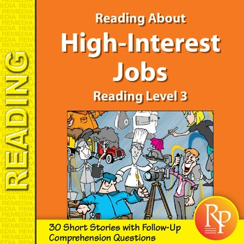 Reading About High-Interest Jobs: Reading Level 3