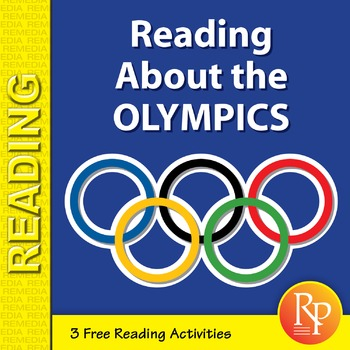 Reading About the Olympics {Freebie}