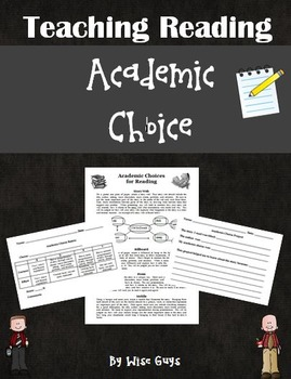 Reading Academic Choices