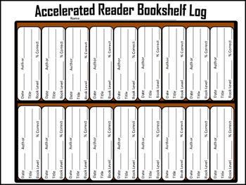 Reading/Accelerated Reading Log