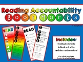 Reading Accountability Bookmarks