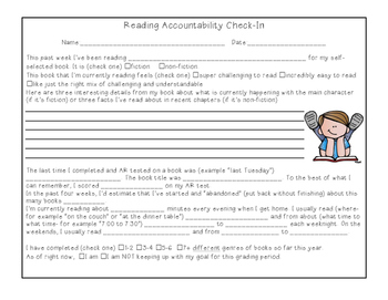 Reading Accountability Check-In