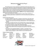 Reading Accountability Portfolio Project (RAPP)