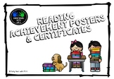Reading Achievement Posters and Certificates