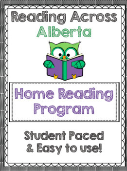 Reading Across Alberta Home Reading Log Using Geography