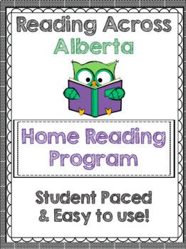 Reading Across Alberta Home Reading Log Grade 4 Alberta Log