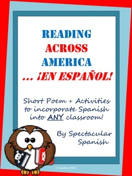 Reading Activity: Short Spanish Poem + Activities