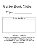 Reading Across Genres Unit of Study