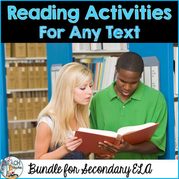 Reading Activities Bundle for Any Text