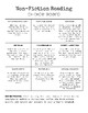 Reading Activities: Choice Boards