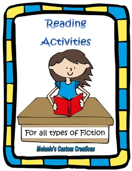 Reading Activities:  Generic Novel / Storybook Study