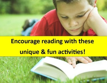 Reading Activities:  Motivate your students to read any text!