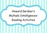 Reading Activities Multiple Intelligences