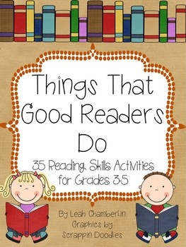 Reading Activities Packet --35 Reading Activities for Grades 3-5