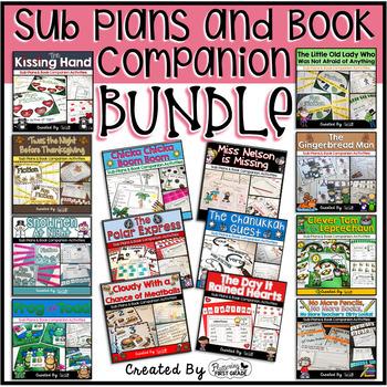Sub Plans and Book Companion Activities ~ BUNDLE