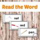 Reading Activities - Short E CVC Printables