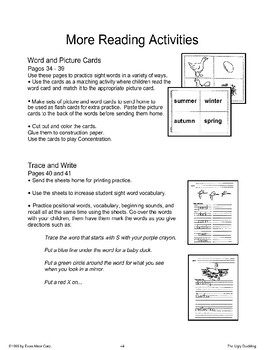 Reading Activities: The Ugly Duckling