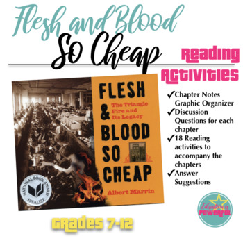 Reading Activities for Albert Marrin's Flesh and Blood So Cheap