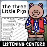 Reading Activities for Seesaw & Google - Three Little Pigs
