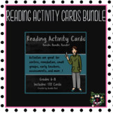Reading Activity Cards Bundle