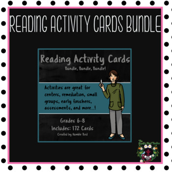 Reading Response Task Cards Bundle