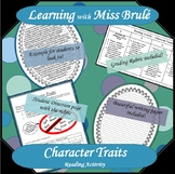 Reading Activity - Character Trait Essay
