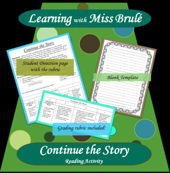 Reading Activity - Continue the Story