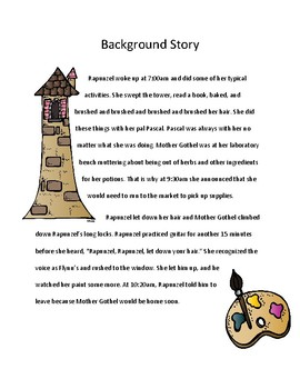 Reading Activity: Fairy Tale Mystery Case File #14 The Chameleon Complication