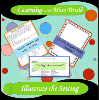 Reading Activity - Illustrate the Setting