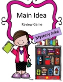Reading Activity Main Idea Review Game: Mystery Joke