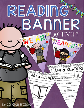 Reading Activity Pennant Banner