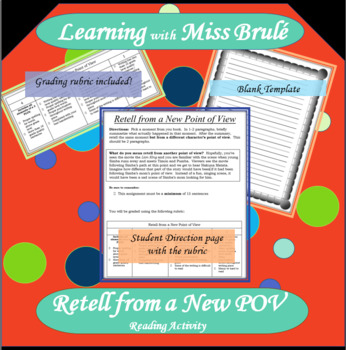 Reading Activity - Retell from a New POV