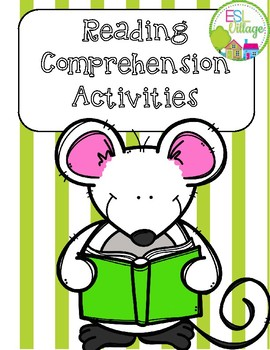 Free Reading Activities {for any story}