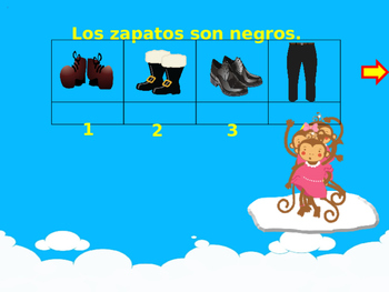 Reading Activity... The Clothes