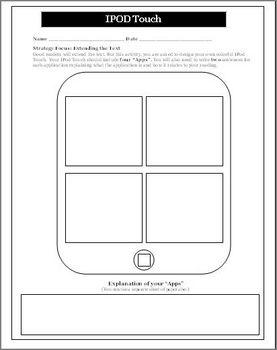 Reading Activity for Any Novel Unit Create Apps