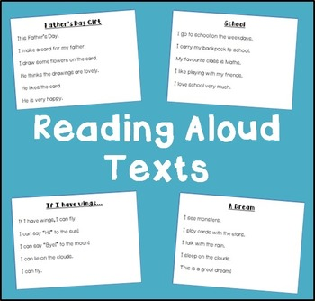 Reading Aloud Texts