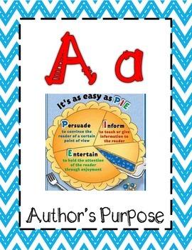 Reading Alphabet 3rd & 4th Grade STAAR