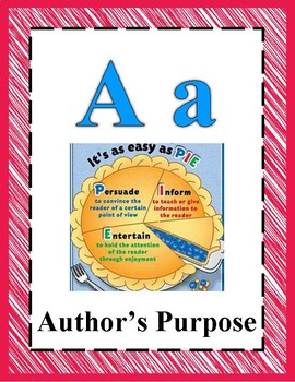 Reading Alphabet 3rd & 4th Grade STAAR - Primary Colors