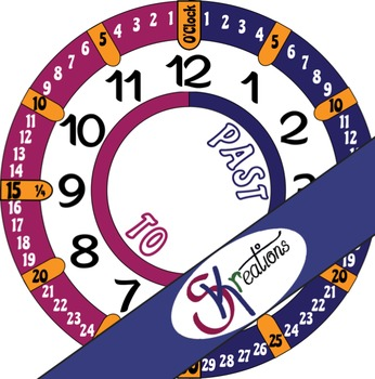 Reading Analog Clock Time