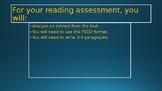 Reading Analysis Coraline extract