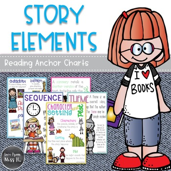 Reading Anchor Charts: Story Elements